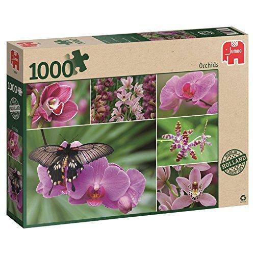 Jumbo Orchids Jigsaw Puzzle 1000-Piece by Jumbo