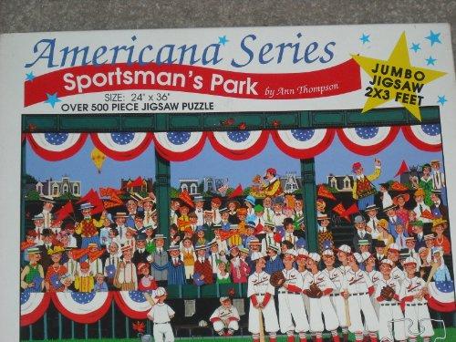 Sportmans Park by Ann Thompson Jumbo Jigsaw Puzzle