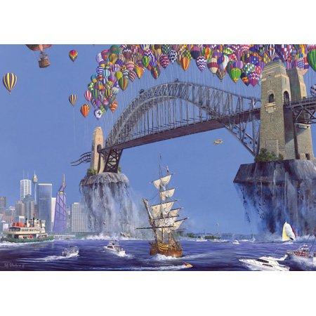 Sydney Harbor Lift-Off Jumbo Jigsaw Puzzle 150pc