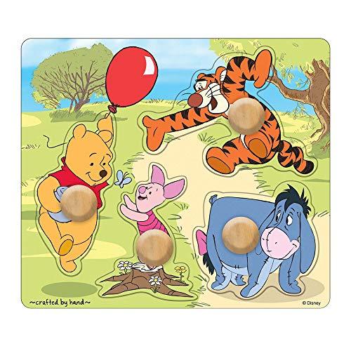 Melissa Doug Disney Baby Winnie the Pooh and Friends Jumbo Knob Wooden Puzzle