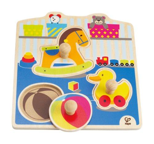 Hape - My Toys Wooden Knob Puzzle