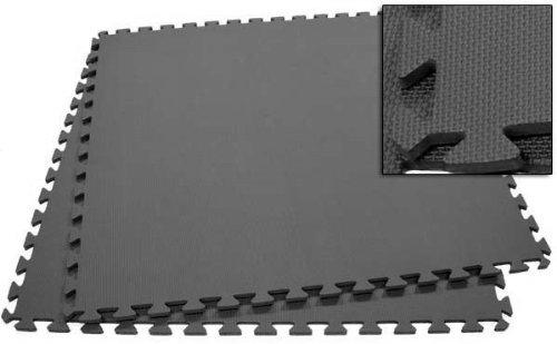 Black Wholesale Extra-Large 40 Puzzle Mats 10 Tiles