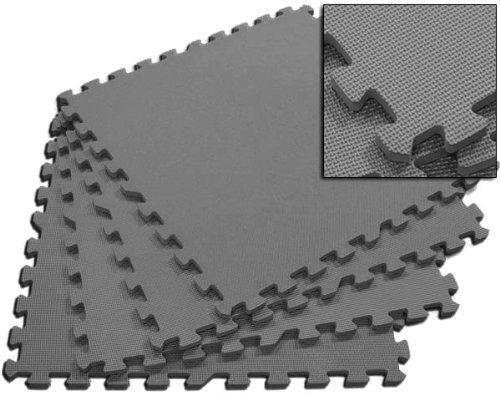 Wholesale Grey 24 Puzzle Mats - 40 Pack
