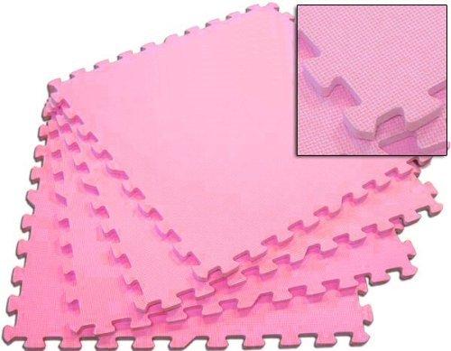 Wholesale Pink 24 Puzzle Mats - 40 Pack