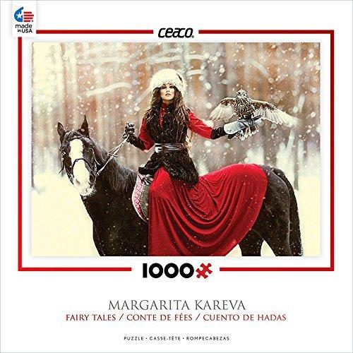 Ceaco Fairy Tales - Snowy Owl Puzzle by Ceaco