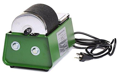 Green Single Drum 3lb Rotary Rock Tumbler