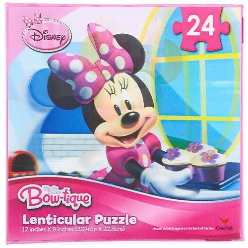 Disney Minnie Mouse Bow-tique Lenticular Puzzle 24 Pieces
