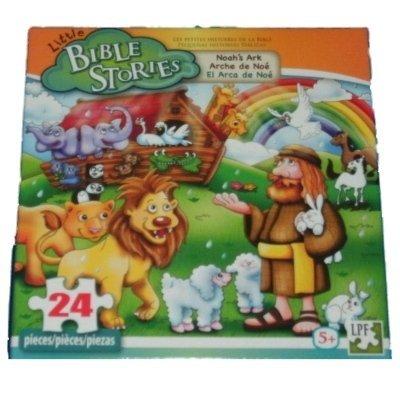 Little Bible Stories Noahs Ark 24 Piece Puzzle