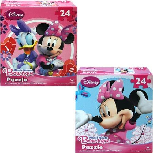 Minnie Mouse Bowtique 24 Piece Puzzle - Assorted Styles