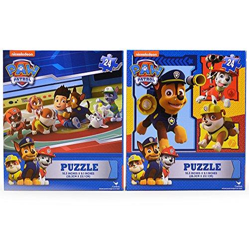 Paw Patrol 2-Pack 24-Piece Puzzle Set