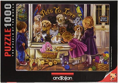 1000 Piece - Anatolian Puzzle -  Pets to Love Puzzle