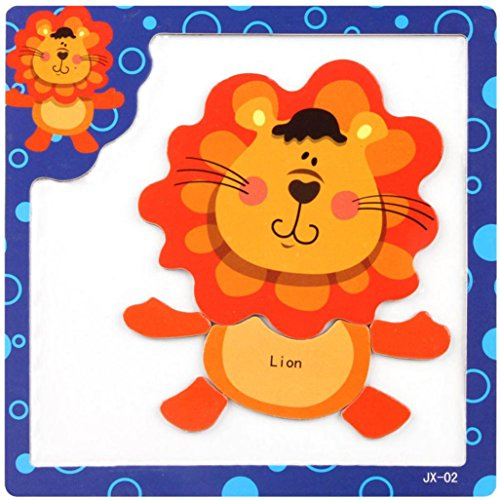 DEESEETM Wooden Magnetic Puzzle Educational Developmental Baby Kids Training Toy