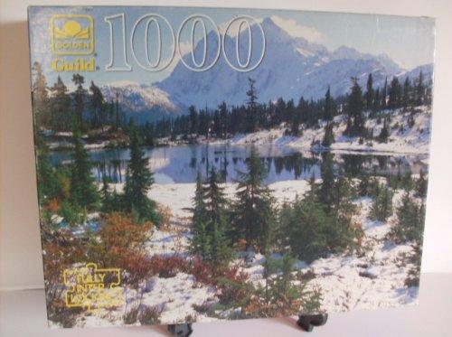 Mt Shuksan Washington State 1000 Piece Guild Puzzle by Golden
