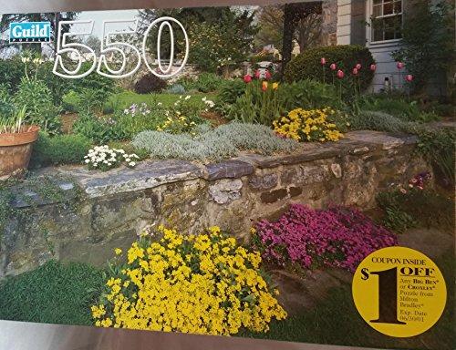 Perennial Garden in Spring - Guild Puzzle - 550 Piece
