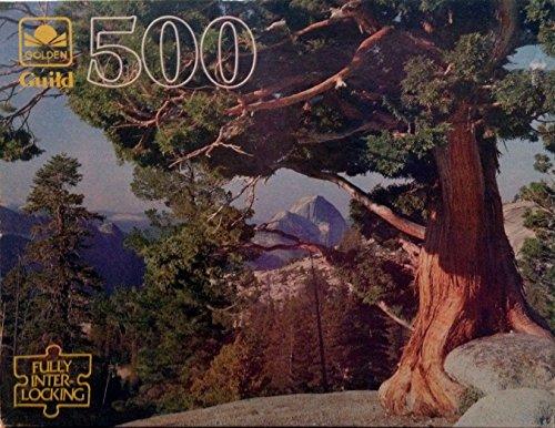 Yosemite National Park 500 Piece Golden Guild Jigsaw Puzzle