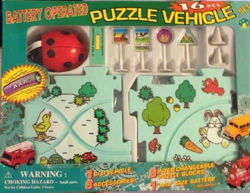 Ladybug Puzzle Vehicle Set by Unknown