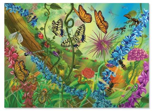 Melissa Doug World of Bugs Jigsaw Puzzle 60 pcs