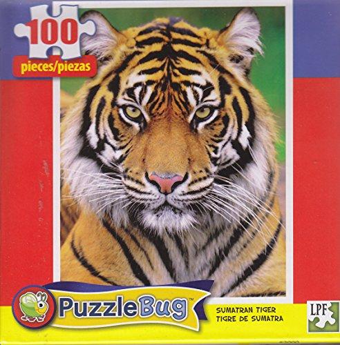 Puzzlebug 100 Piece Puzzle ~ Sumatran Tiger
