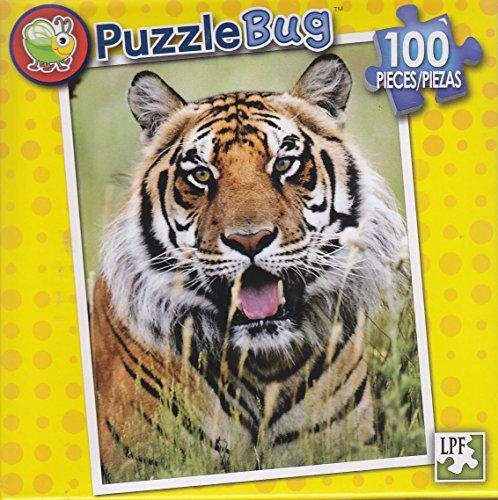 Puzzlebug 100 Piece Puzzle ~ Tiger