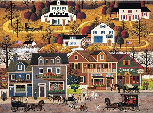 1000 Piece Charles Wysocki Hawkriver Hollow Jigsaw Puzzle