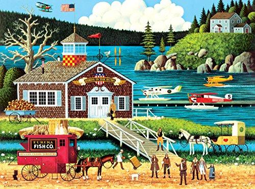 Buffalo Games Charles Wysocki Birds of a Feather - 1000 Piece Jigsaw Puzzle by Buffalo Games
