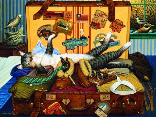 Buffalo Games Charles Wysocki Cats Mabel The Stowaway - 750pc Jigsaw Puzzle