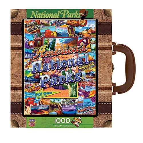 MasterPieces  Collector Suitcase 1000-piece Puzzle National Parks