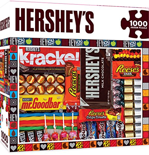 MasterPieces Hersheys Jigsaw Puzzle Matrix Chocolate Collage 1000 Pieces