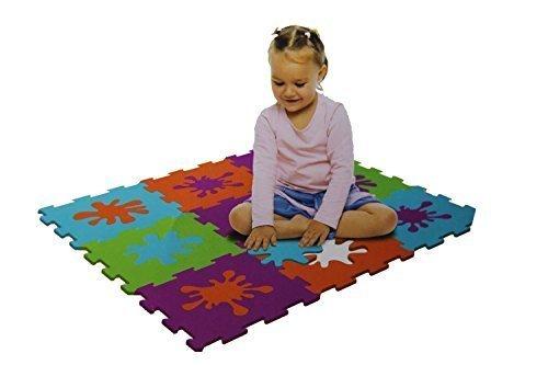 Fun Shapes foam play mat 18 pieces set