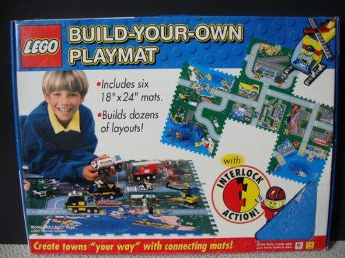 LEGO Build Your Own Playmat Six 18x24 Mats Set City Felt Foam Play Mat