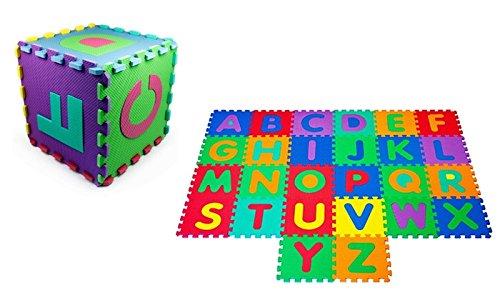 MareLight Soft Bpa-free Interlocking Foam Alphabet Floor Mat Non-toxic and tasteless 26-piece Letters Soft floor mat And Flooring Mat for Children mats - Play Mat For Kid