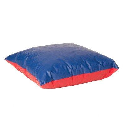 Foamnasium Shredded Foam Soft Play Pillow Large RedBlue