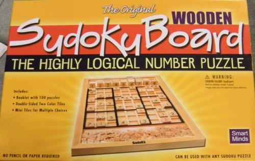 The Original Wooden Sudoku Board by Smart Minds