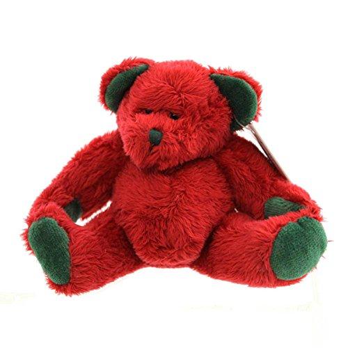 Bell Mini Christmas Teddy Bear Rattle