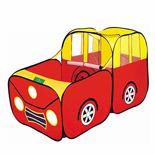 Balls Pool - SODIALR Sports Car Kids Play Tent House Play Hut Children Ocean Balls Pit Pool
