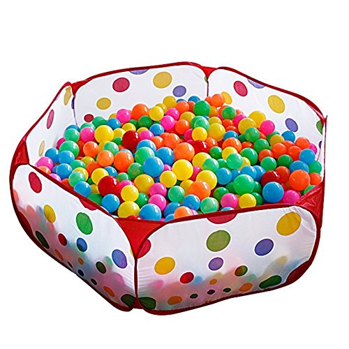 Baby Ball Pool Foldable Kids Popup Pit Balls Pool for Children Indoor and Outdoor 35  18  11 Inch