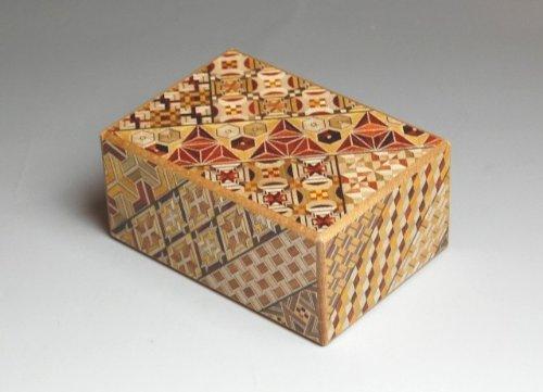 Japanese Yosegi Puzzle Box 4 Sun 12 Moves