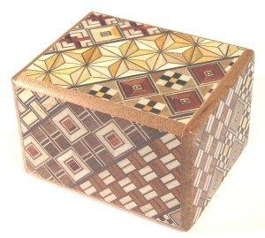 Yosegi Puzzle Box 25 sun 12 steps