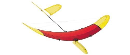 HQ Kites Airglider Series 40 RedYellow Kite