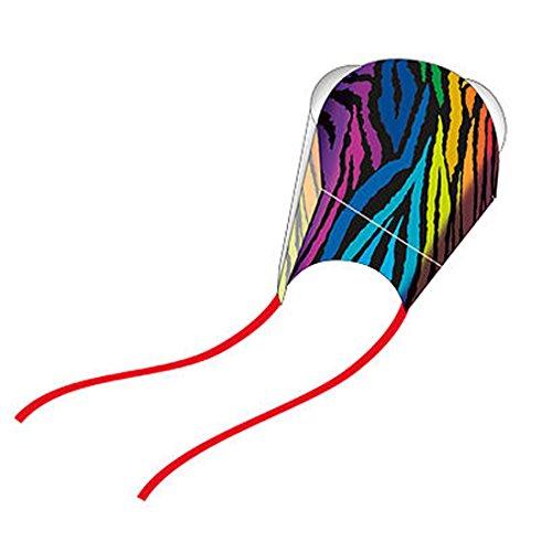 WindNSun Nylon Frameless Pocket Kite - Stripes