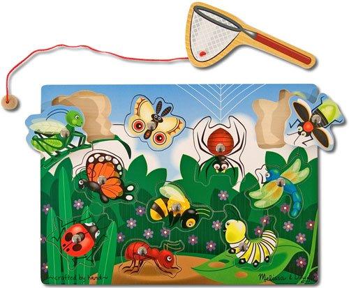 Melissa Doug Magnetic Bug Catching Game