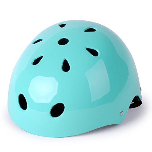 WinMax Multi-sport Skateboarding Skating Cycling Safety Bike Helmet for Kids Robin Egg Blue S