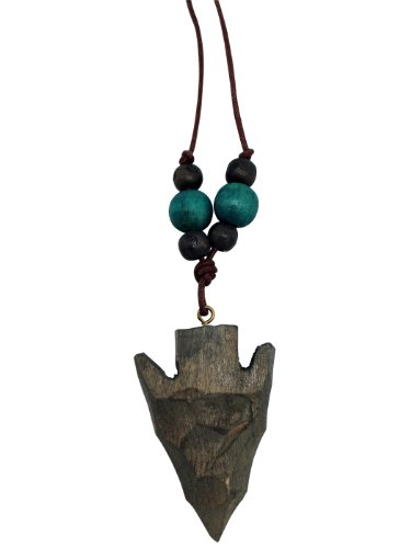 Arrowhead Rope Necklace - Handcrafted Toy Jewelry