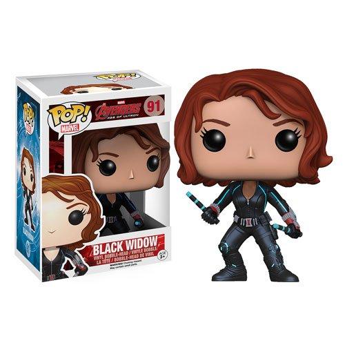 Avengers Age of Ultron Black Widow Pop Vinyl Bobble Head Figure