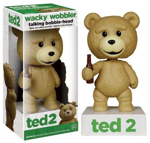 Ted 2 Wacky Wobbler Uncensored Talking Bobble-head Figure