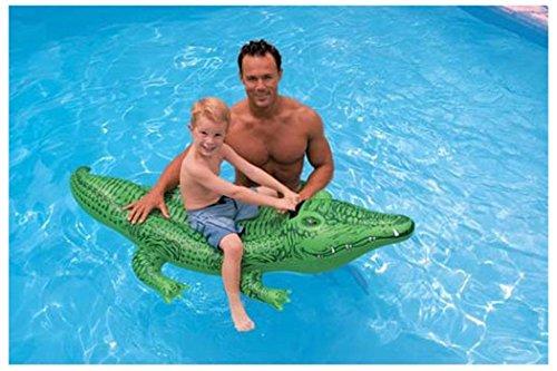Intex Kids Swimming Pool Aqua Fun Floating Learn To Swim Lil Gator Ride On Toy