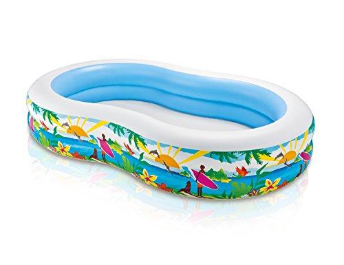 Intex Swim Center Inflatable Paradise Seaside Kids Swimming Pool  56490EP