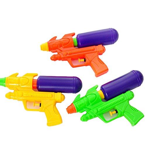 3 Pcs Baby Toy Squirt Guns Kids Children Water Gun Pistol for Beach Swimming Pool Fun