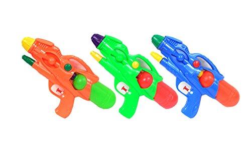 3-pack 11 Squirt Guns for Kids Water Pistol Gun for Pool Fun