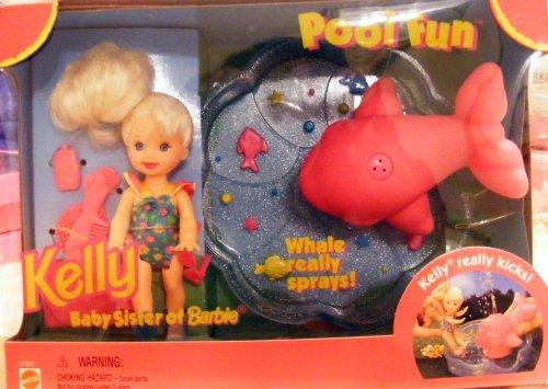 Kelly Pool Fun Set Mattel Barbie New in Box
